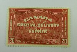 C1930 Canada Sc E5 Special Delivery Mh F-vf 20 Cent Stamp