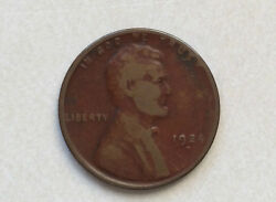 1924-d Lincoln Cent Wheat Back Penny U.s. Coin D9655