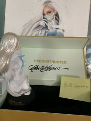 Ow-girl Vinyl Bust And Print By Reina Koyano Eu Signed 1/30 And 1/150