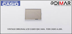 Replacement Vintage Original Lcd Casio Qw-1604. For Casio A-200.