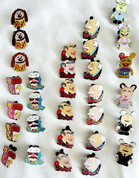 Inside Park Traded Disney Trading Pins Lot Of 30 Muppet Character Collection