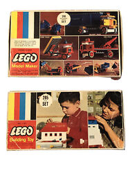 Vintage 1960s Lego 285 And 310 Empty Boxes Only Building Toy And Model Maker