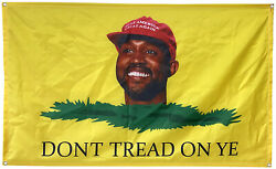 Dont Tread On Ye 3x5 Ft Flag Banner for College Dorm Frat or Man Cave
