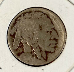 1914-d United States Indian Head Buffalo Nickel Rare Date