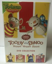 Treehouse Presents Toopy And Binoo Vroom Vroom Zoom Dvd Collection New Set 3 Dvd