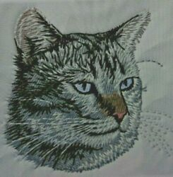 Lynx Point Siamese Cat Breed 2 Embroidered Hand Towels Personalized