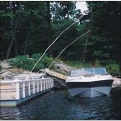 Dock Edge 3600-f Premium Mooring Whip 2pc 14and039 10 000lbs Up To 28and039