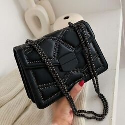 Luxury Rivet Chain Small Crossbody Shoulder Messenger Bags For Women 2020 New $35.95