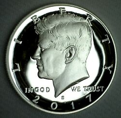 2017 S Proof Silver Kennedy Half Dollar Coin 50 Cent Jfk From Us Mint Proof Set