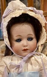 Antique 14 German Bisque Gebruder Heubach 8420 Doll W/fully Jointed Orig Body