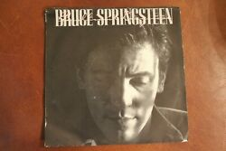 Bruce Springsteen Brilliant Disguise Lucky Man 45 Rpm Demo W Pic Sleeve Vg+