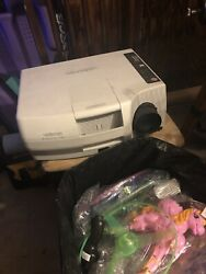 Vintage Vidikron Crystal Two Home Theater Projector Working Great Rare