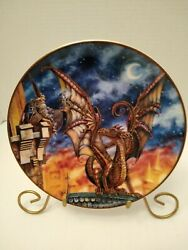 The Franklin Mint Heirloom Lure Of The Dragon Collectors Plate.