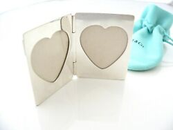 And Co Double Heart Folding Foldable Picture Frame Heirloom Gift Love Rare