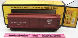 Rail King By Mth 30-7418 Pennsylvania Rounded Roof Boxcar