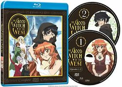The Good Witch Of The West Complete Set 2006 Anime 2-disc Blu-ray Us Release