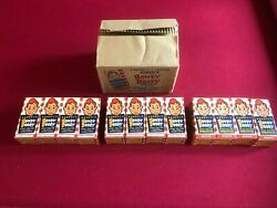 1950and039s Howdy Doody Un-used Shoe Polish Case Of 12 Bottles Rare Vintage