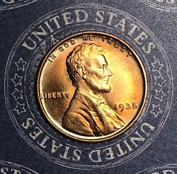 1935 Lincoln Wheat Cent Nice Collector Coin For Your Collection