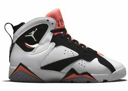 2015 Air Jordan 7 Retro Gs Size Us 3.5y Hot Lava 442960-106 Olympic Nothing But