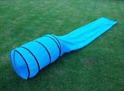 Dog Pet Agility Obedience Training Tunnel Chute 15#x27; New