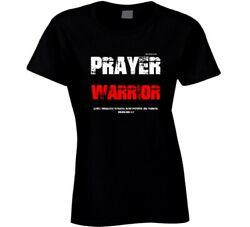 Prayer Warrior Col 4:2  Bible Verse Christian  Gift Ladies T Shirt