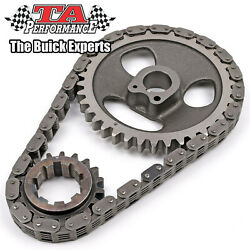 Buick Nailhead Silent Link Timing Chain And Gear Set 9 Key Way Fits 364-401-425