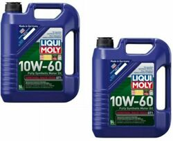 Engine Oil 10 Liters Liqui Moly 10w-60 Fully Synthetic Racetech Motor Oil