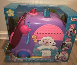 Doc Mcstuffins Get Better Talking Mobile Clinic Cart Hospital Toy New