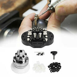 Metal Mini Ball Vise Engraving Block Set With Attachment Jewelry Setting Tools