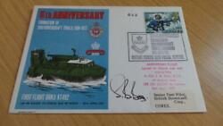 Rb380 Fdc 1972 General Anniversaries Formation Of 200 Hovercraft Trials Signed