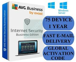 Avg Internet Security Business Edition 75 Pc / 1 Year Global Activation Code