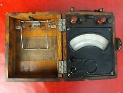 Old Analog Dc Meter Voltmeter Ammeter With High Current Shunts Not Working