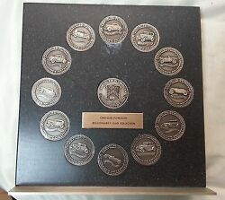 Chrysler-plymouth Millionaire Club Collection Sterling Silver Tokens