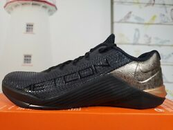 Nike Womens Metcon 5 X And039black Metallic Red Bronzeand039 At3145-060 Size 11= Mens 9.5