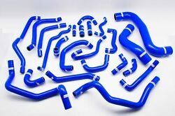 Complete Silicone Radiator And Heater Hose Kit For Mt Subaru Legacy Bp5 Bl5 03-09