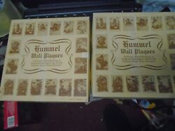 2x Hummel Wall Plaques French's Art Shop Authentic Reproductions