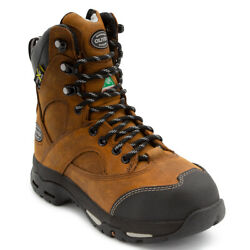 Oliver by Honeywell Leather Women#x27;s Steel Toe Work Boots Safety Shoes Footwear $49.99