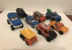 Vintage Tonka, Remko Toys, 1978-1990 Cars Diecast Lot Of 8 Cars And Trucks