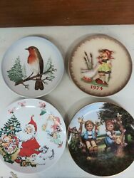 Goebel And Hummel Collector Plates