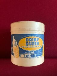 1953, Dairy Queen, Un-used Ice Cream Container 1-pint Scarce / Vintage