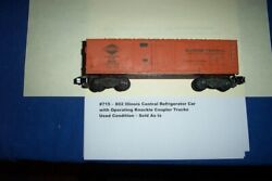 American Flyer Trains - 802 Illinois Central W/knuckle Coupler Trucks 715