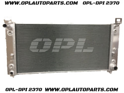 Aluminum Radiator For 1999-2013 Silverado 1500 V6 V8 34core W/eoc And W/toc