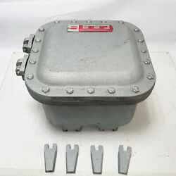Unused Crouse-hinds Ejb121208-gb Explosion-proof Junction Box Class Efg