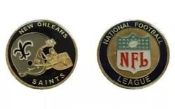 New Orleans Saints Nfl Football Police Military Challenge Coin Helmet Cpo Brees