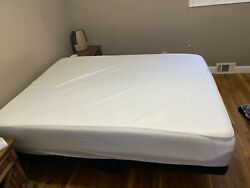 10 Inch Queen Size Memory Foam Mattress With Adjustable Base