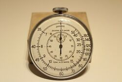 Vintage Ussr Russia Rare Medical Doctor Stop Watch Chronometer Pulsometeragat