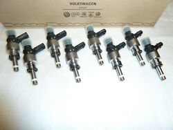 8x Rs4 B8 Rs5 8t 4.2 Fsi Cfsa Genuine Fuel Injector Injection Valve 079906036ac