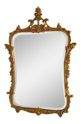 39223 Friedman Brothers 5505 Fancy Gold Framed Decorator Wall Mirror New