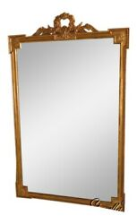 39693 Friedman Brothers 1897 Large French Louis Xiv Beveled Mirror New
