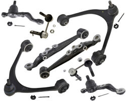 Suspension Kit Lexus Sc430 4.3l Upper Lower Control Arms Lower Ball Joints Sway